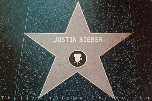 Justin Bieber Hollywood Walk Of Fame