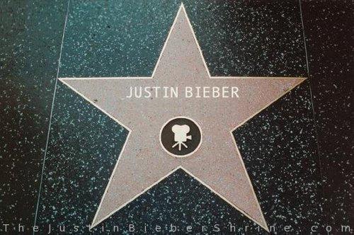 Justin Bieber Hollywood Walk Of Fame