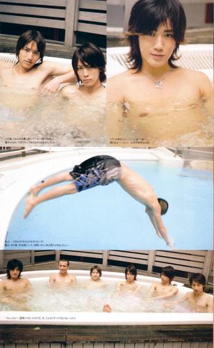 KAT_TUN swimming