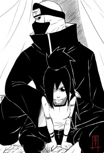 Kakuzu_and_his_daughter_