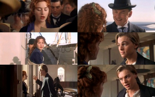 Kate Winslet & Leonardo DiCaprio- Titanic - kate-winslet-and-leonardo-dicaprio Fan Art