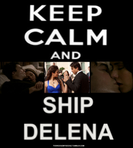 Keep Calm & Ship Delena