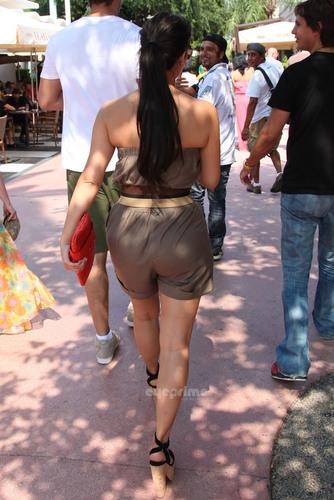 Kim in Miami.