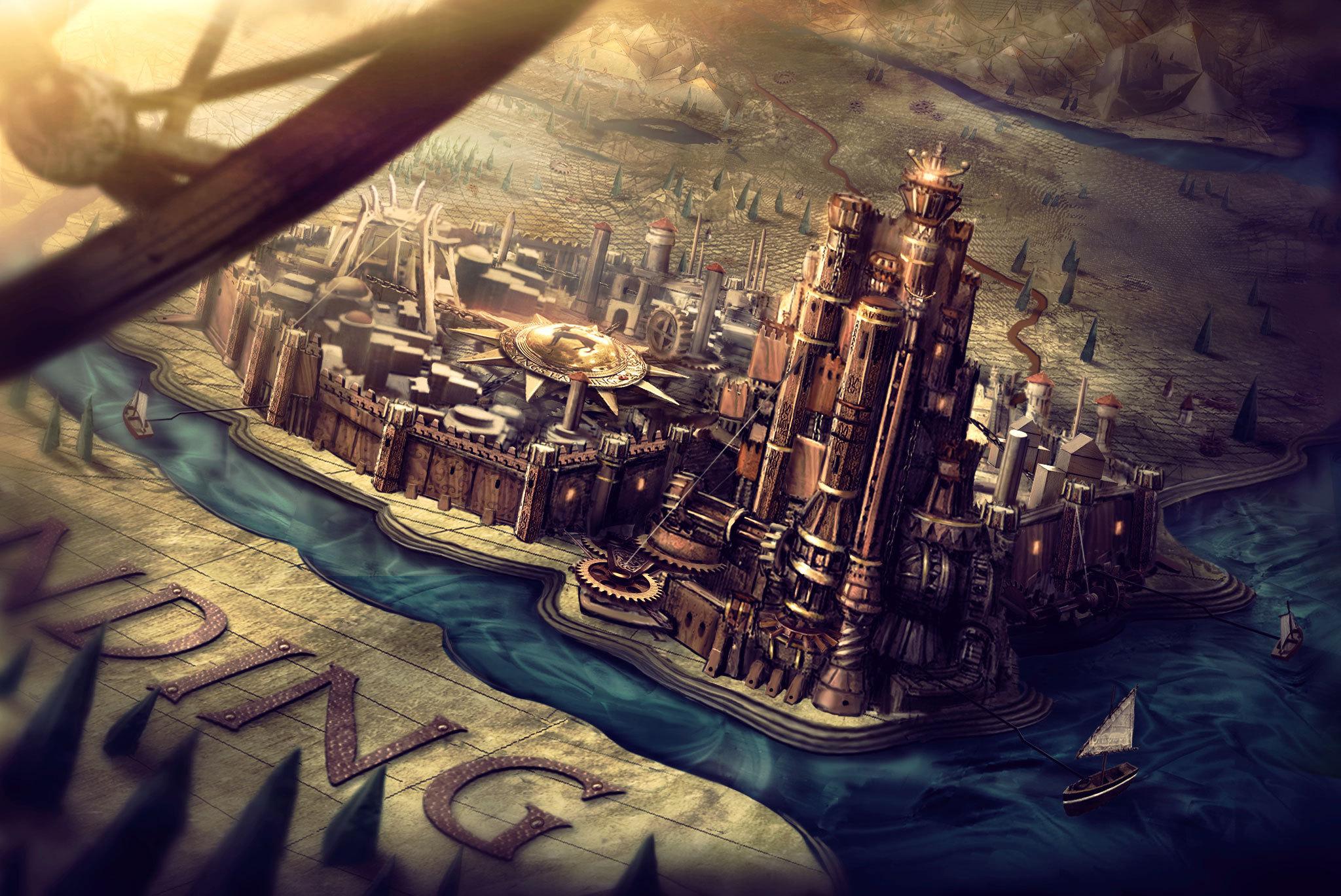 Game of thrones king s landing concept art