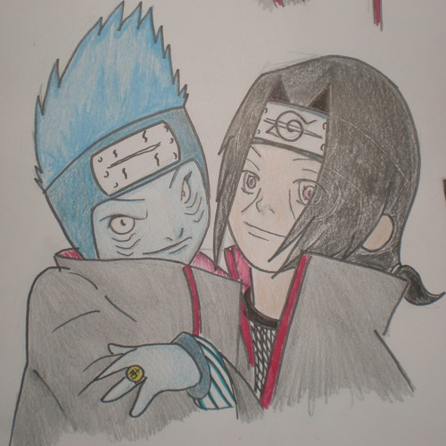Kisame and Itachi ちび :D