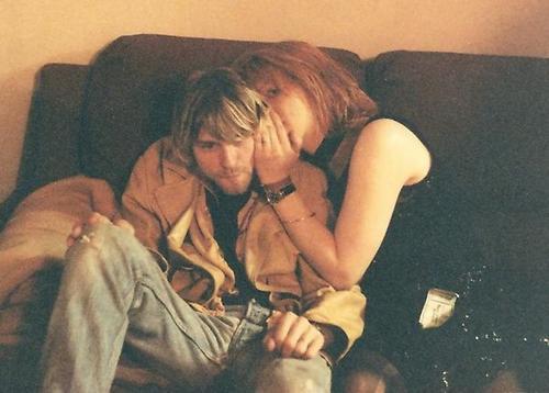 Kurt et Courtney