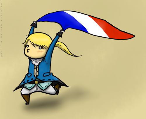 Le Chevalier D'eon Chibis!