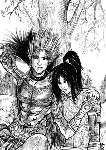 Ling Tong and Gan Ning