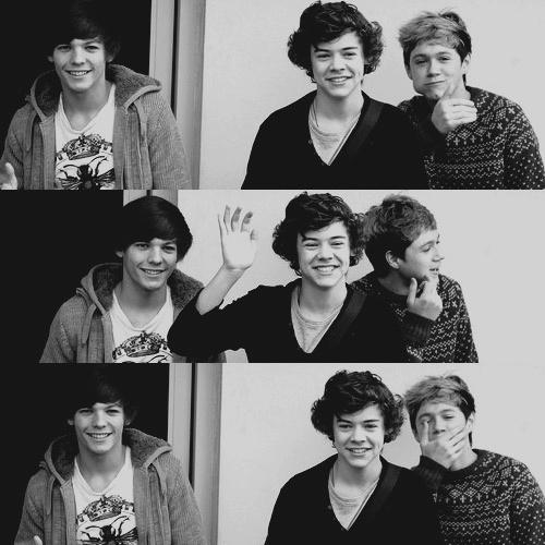 Louis,Harry & Niall