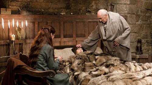 Maester Luwin, Bran & Catelyn