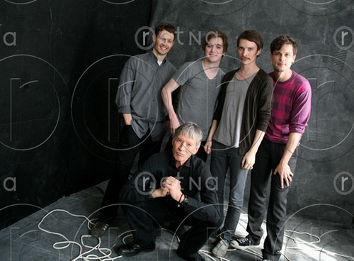 Matthew Gray Gubler and the Cast of Magic Valley
