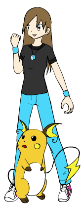 Me as a Pokemon Trainer!