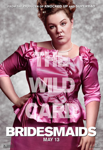 Bridesmaids wallpaper probably containing a cocktail dress titled Melissa McCarthy - The Wild Card