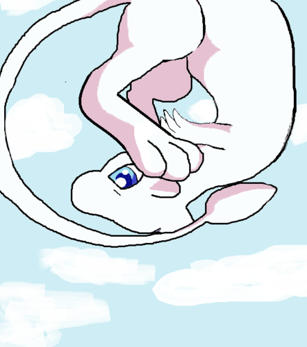Mew in the Clouds