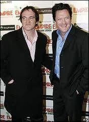 Michael Madsen and Quentin Tarantino