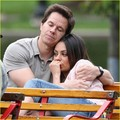 Mila Kunis: Cuddling with Mark Wahlberg - mila-kunis photo