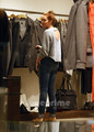 Miley Cyrus seen shopping in Rio, May 12