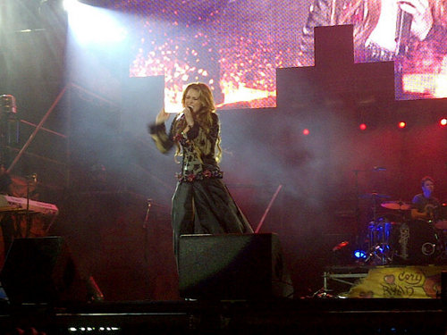 Miley - Gypsy 心 Tour (2011) - Asuncion, Paraguay - 10th May 2011