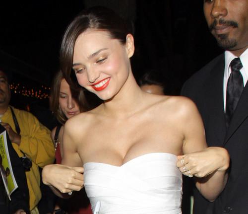 Miranda Kerr at the Beverly Club