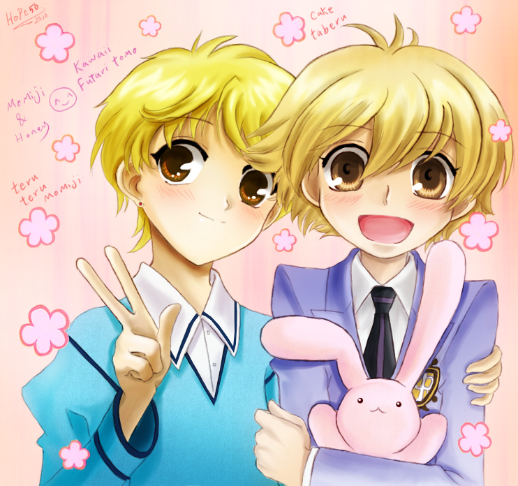 Ouran High School Host Club Images Momiji And Honey Sempai Hd