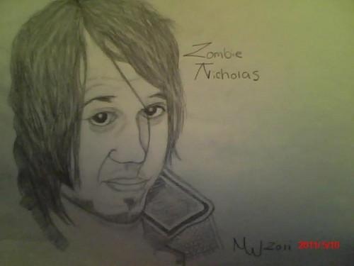 My Art Of Zombie Nicholas