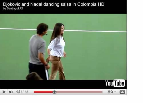 Nadal : seduced him dancing girl !