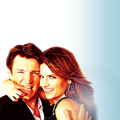 Nathan&amp;Stana &lt;3 - nathan-fillion-and-stana-katic fan art