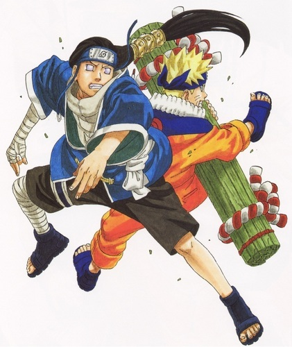 Neji and Naruto