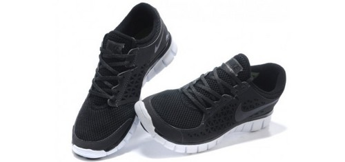 Nike Free Run+ Women's Shoes Black