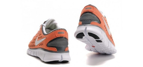 Nike Free Run+ Women's Shoes arancia, arancio Grey
