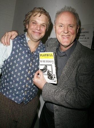 Norbert Leo Butz and John Lithgow