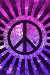 Peace & Love - Purple Photo (21933086) - Fanpop