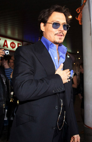 Premiere of Pirates of the Caribbean 4 in Russia- 11/05/2011