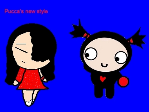 Pucca's new style