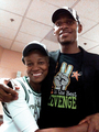 Ray & his mom Flo :) - ray-allen photo