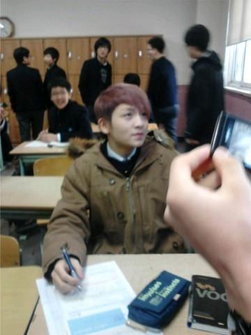 Ricky at school