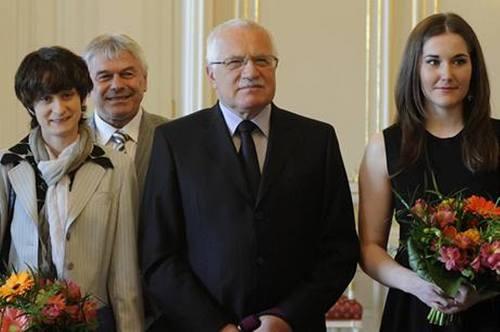 Sablikova, Novak and Klaus