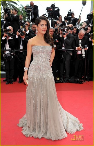 Salma Hayek: Cannes Opening Ceremony Red Carpet!