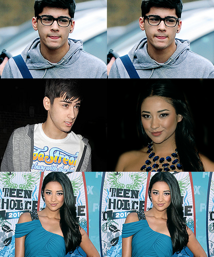 Shay Mitchell & Zayn Malik 100% Real ♥