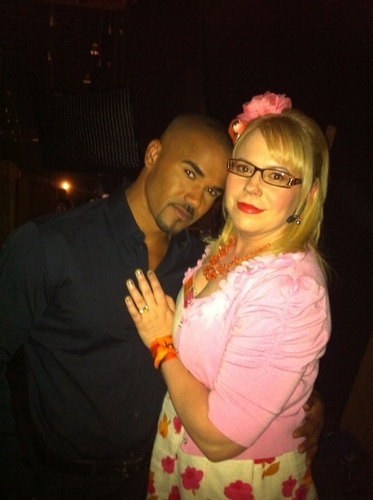 Shemar Moore wallpaper possibly containing a portrait called Shemar & Kirsten
