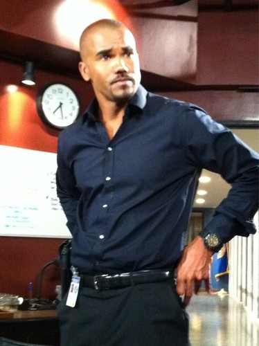 Shemar Moore wallpaper probably with a workwear, an outerwear, and a green beret titled Shemar