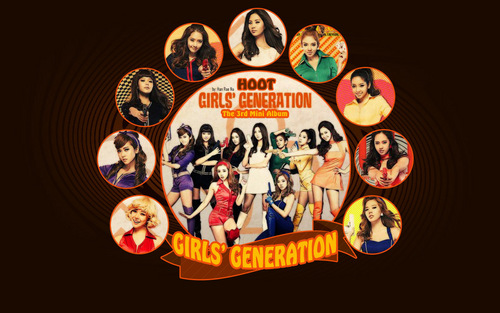 Snsd hoot - kpop-girl-power Wallpaper