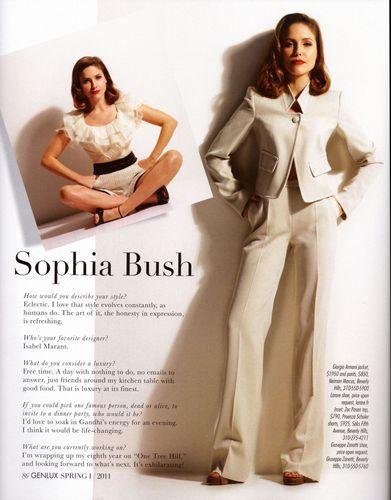 Sophia - Magazines - 2011 - Genlux (Spring)