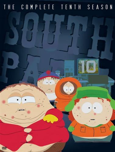 South Park kertas dinding titled South Park Season 10 DVD Cover