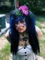 Spike Zombie Scene Hair