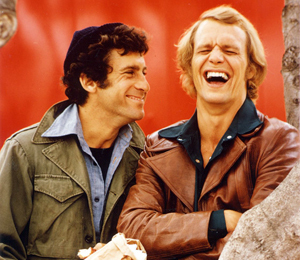 Starsky and Hutch (1975) 바탕화면 with a green 베레모, 베 레모 entitled Starsky and Hutch