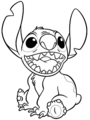 Walt Disney Coloring Pages - Stitch - walt-disney-characters photo