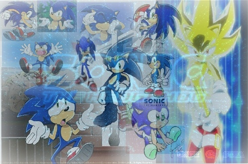 SOMETHINGS PINCHING MY TAIL!!+other sonic pics in one :)