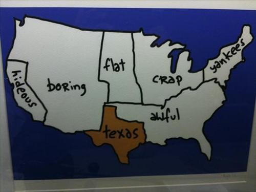 Texan's view of America