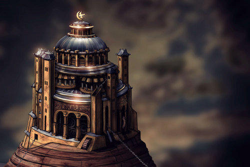 The Eyrie concept art